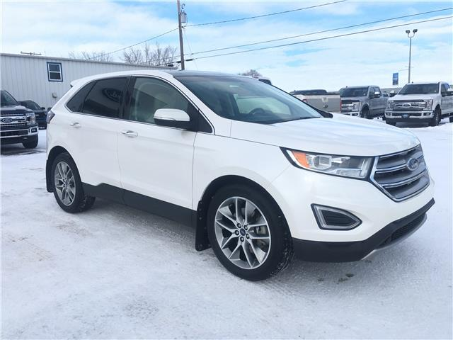 2016 Ford Edge Titanium (Stk: 20127A) in Wilkie - Image 1 of 23