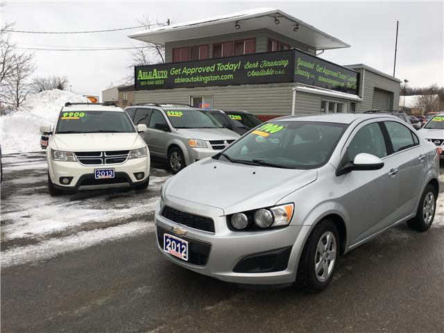 2012 Chevrolet Sonic LT (Stk: 2631) in Kingston - Image 1 of 9