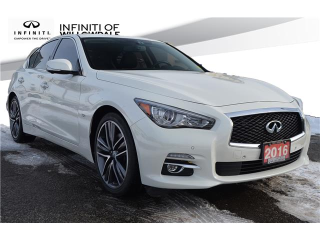 2016 Infiniti Q50 3.0T (Stk: U16650) in Thornhill - Image 1 of 27