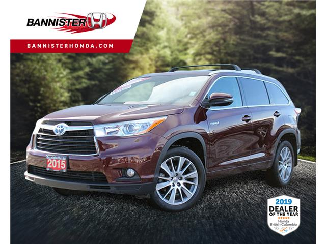 2015 Toyota Highlander Hybrid XLE (Stk: P19-134A) in Vernon - Image 1 of 14