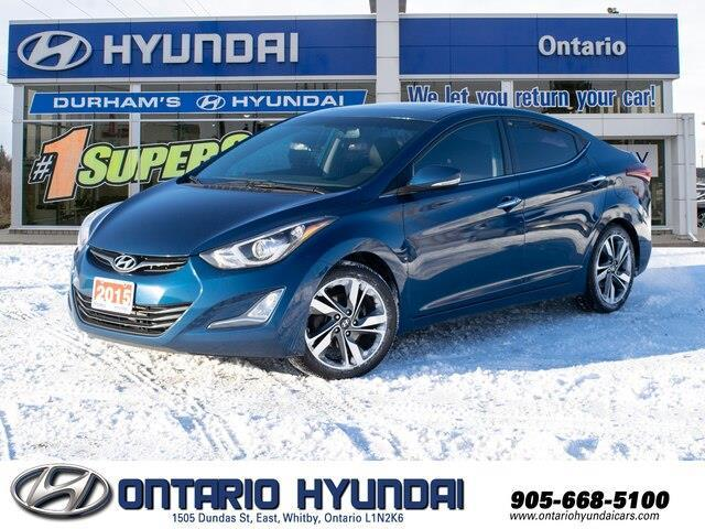 2015 Hyundai Elantra Limited (Stk: 87538K) in Whitby - Image 1 of 20