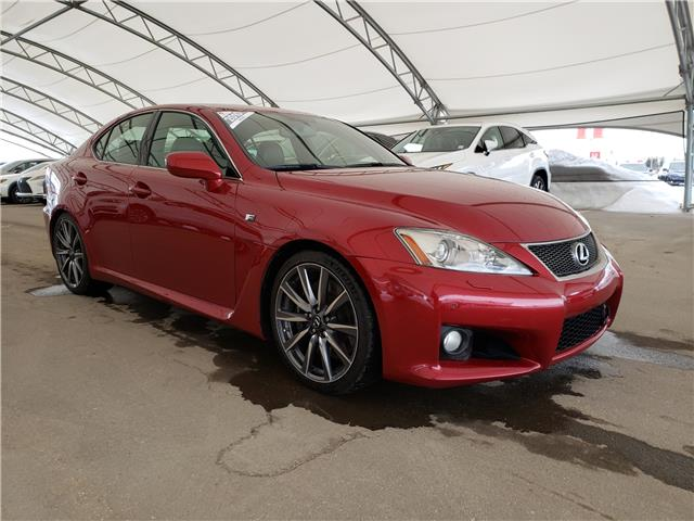 2010 Lexus IS-F Base JTHBP5C25A5007866 LU0286 in Calgary