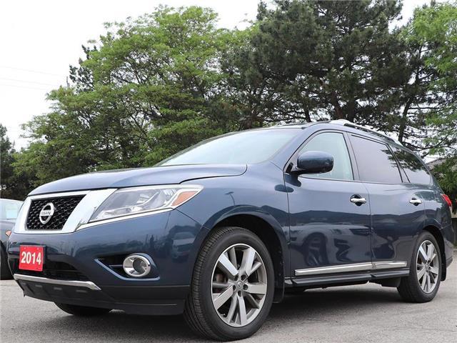 2014 Nissan Pathfinder Platinum| AWD| Leather| Loaded! | NAVIGATION! !! (Stk: 5409) in Stoney Creek - Image 1 of 21