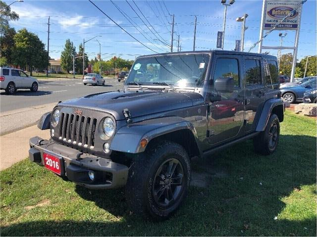 2016 Jeep Wrangler Unlimited 75th Anniversary / NAVIGATION! /HEATED SEATS! (Stk: 5509) in Stoney Creek - Image 1 of 19