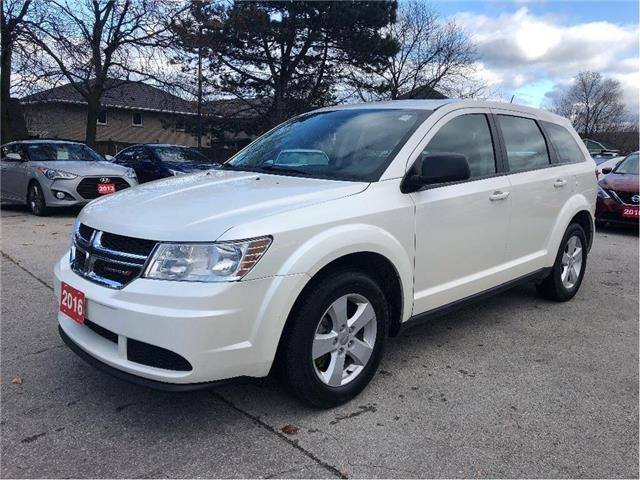 2016 Dodge Journey Canada Value Pkg |LOW LOW KM!! | ONE OWNER!! (Stk: 5566) in Stoney Creek - Image 1 of 22