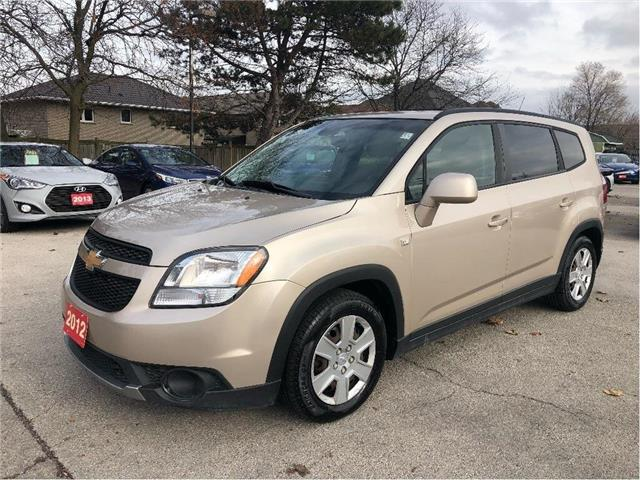 2012 Chevrolet Orlando 1LT | 7 PASSENGER | GAS SAVER| AFFORDABLE!! (Stk: 5565A) in Stoney Creek - Image 1 of 20