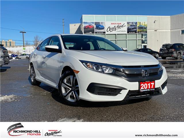 2017 Honda Civic LX (Stk: 202329P) in Richmond Hill - Image 1 of 18