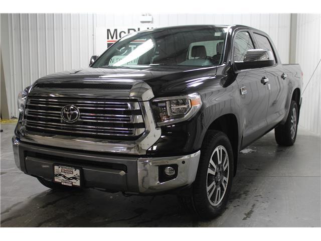 2020 Toyota Tundra Platinum (Stk: X906599) in Winnipeg - Image 1 of 22