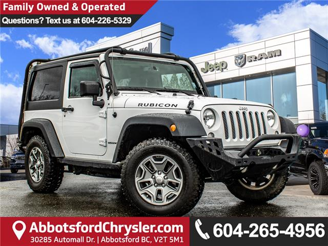 2016 Jeep Wrangler Rubicon (Stk: AG0993) in Abbotsford - Image 1 of 22