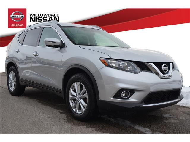 2016 Nissan Rogue SV (Stk: N336A) in Thornhill - Image 1 of 25