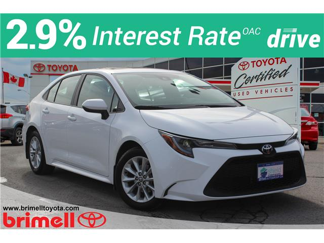 2020 Toyota Corolla LE 5YFBPRBE7LP013954 10212R in Scarborough