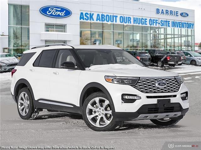 2020 Ford Explorer Platinum (Stk: U0313) in Barrie - Image 1 of 28
