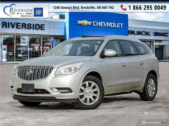 2015 Buick Enclave Leather (Stk: 19-498A) in Brockville - Image 1 of 27
