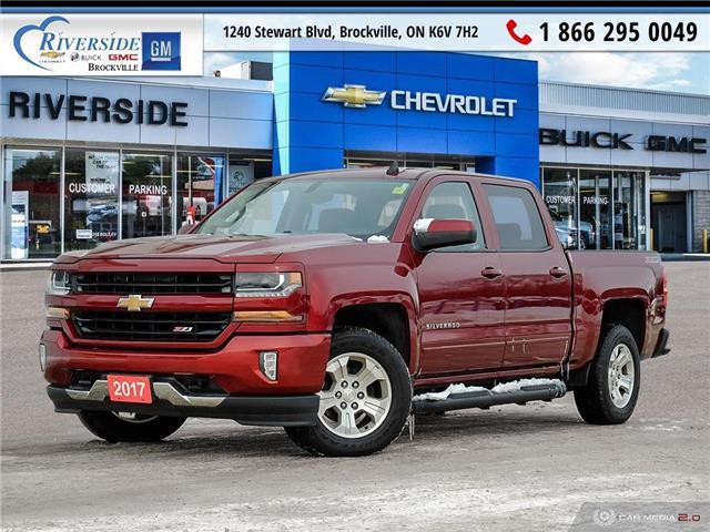 2017 Chevrolet Silverado 1500 LT (Stk: 19-389A) in Brockville - Image 1 of 27