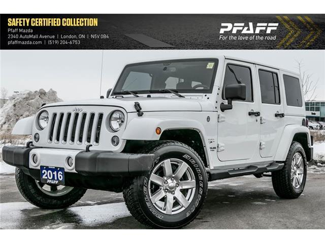 2016 Jeep Wrangler Unlimited Sahara (Stk: LM9449A) in London - Image 1 of 18