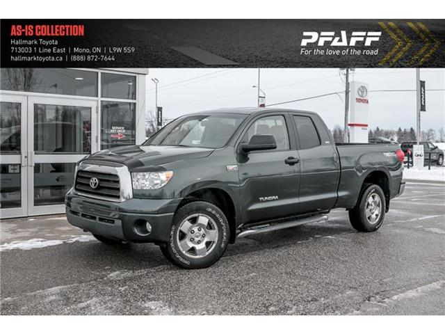 2008 Toyota Tundra 4x4 Dbl Cab 5.7 V8 SR5 Std 6A (Stk: H20270A) in Orangeville - Image 1 of 21
