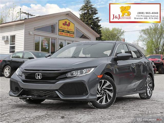 2019 Honda Civic LX (Stk: J2018) in Brandon - Image 1 of 27