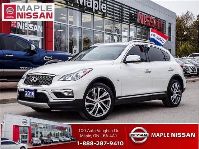 2016 Infiniti QX50 AWD|Leather|Moonroof|Bluetooth (Stk: LM432) in Maple - Image 1 of 25