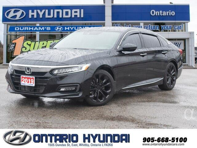 2019 Honda Accord Touring 1.5T (Stk: 01254K) in Whitby - Image 1 of 19