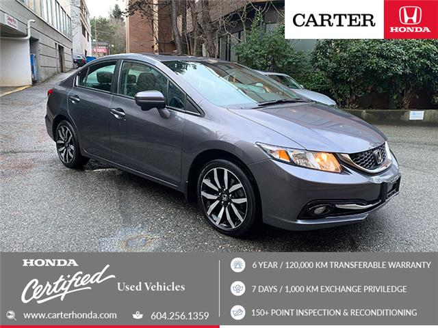 2015 Honda Civic Touring (Stk: 3L66811) in Vancouver - Image 1 of 23