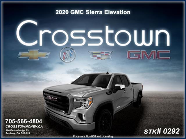 2020 GMC Sierra 1500 Elevation (Stk: 0292) in Sudbury - Image 1 of 19