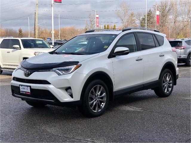 2017 Toyota RAV4 Limited (Stk: U3104) in Vaughan - Image 1 of 24