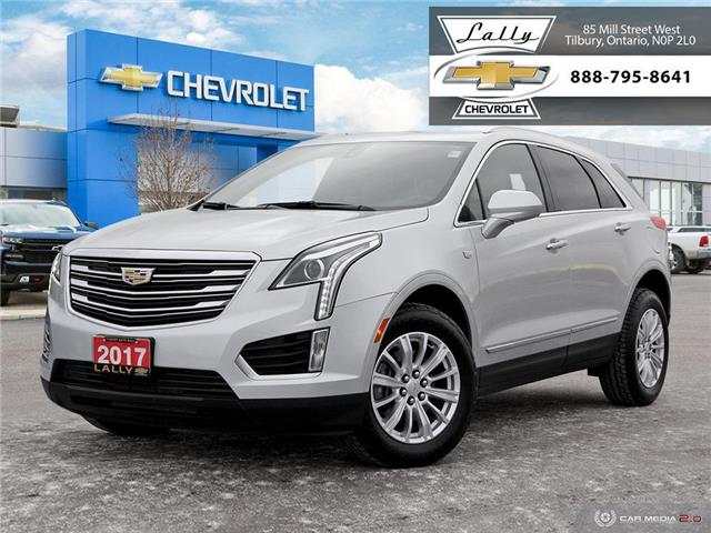 2017 Cadillac XT5 FWD LEATHER, HEATED SEATS, BT, BACK-UP CAMERA (Stk: 00041R) in Tilbury - Image 1 of 27