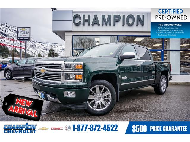 2015 Chevrolet Silverado 1500 High Country (Stk: 20-10A) in Trail - Image 1 of 26