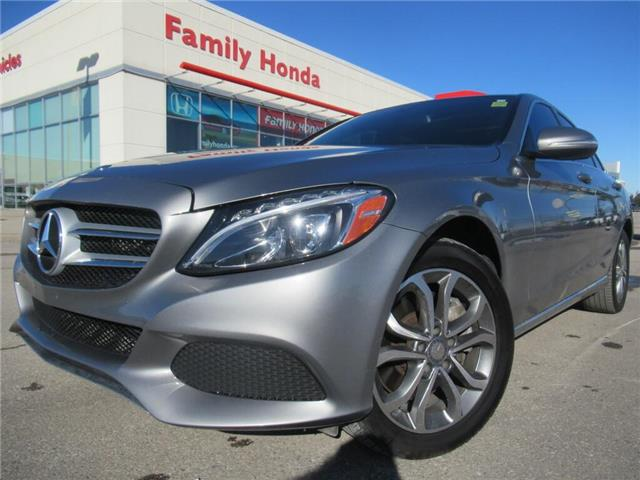 2015 Mercedes-Benz C-Class 4dr Sdn C 300 4MATIC | MOONROOF\SUNROOF | (Stk: 062098T) in Brampton - Image 1 of 30