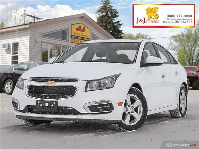2016 Chevrolet Cruze Limited 2LT (Stk: J2011) in Brandon - Image 1 of 27