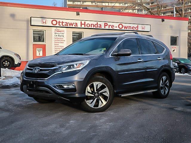 2016 Honda CR-V Touring (Stk: H81100) in Ottawa - Image 1 of 28