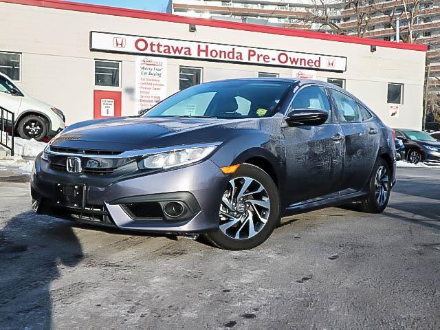 2017 Honda Civic EX (Stk: H81380) in Ottawa - Image 1 of 26