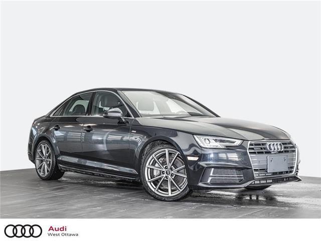 2017 Audi A4 2.0T Technik