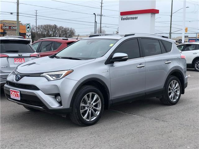 2017 Toyota RAV4 Hybrid Limited (Stk: TW104A) in Cobourg - Image 1 of 28