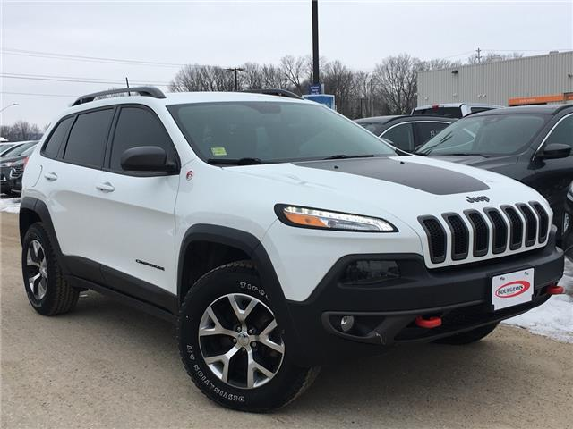 2017 Jeep Cherokee Trailhawk (Stk: 19RT37A) in Midland - Image 1 of 19