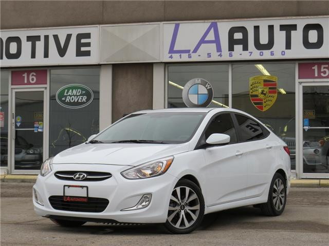 2017 Hyundai Accent  (Stk: 3288) in North York - Image 1 of 27