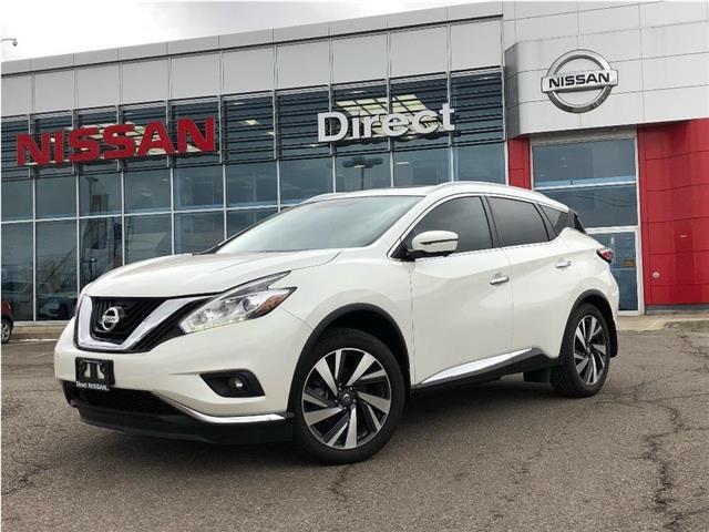 2018 Nissan Murano DEMO | $10,000+ SAVINGS PLUS $3000 IN EXTRAS! (Stk: N3260) in Mississauga - Image 1 of 23