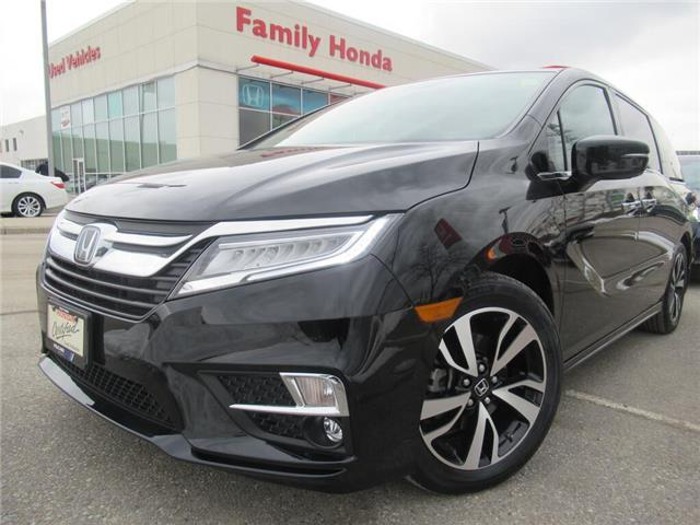2018 Honda Odyssey Touring Auto | NAVIGATION | HEATED SEATS | (Stk: 501345P) in Brampton - Image 1 of 27