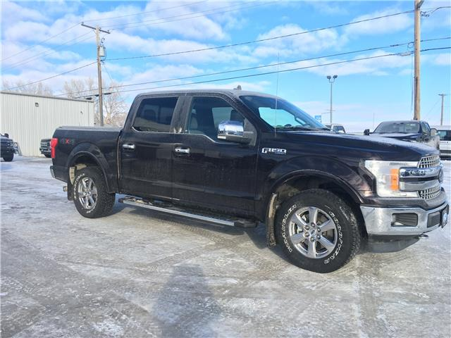 2018 Ford F-150 Lariat 1FTEW1EP1JFD56052 9284B in Wilkie
