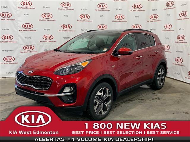 2020 Kia Sportage EX Premium (Stk: 22105) in Edmonton - Image 1 of 29