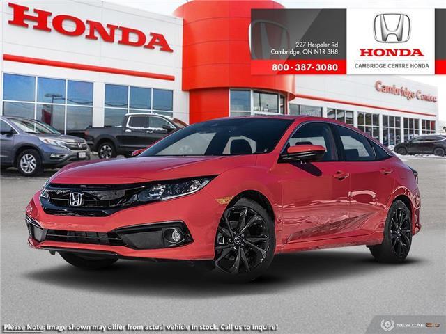 2020 Honda Civic Sport (Stk: 20732) in Cambridge - Image 1 of 22