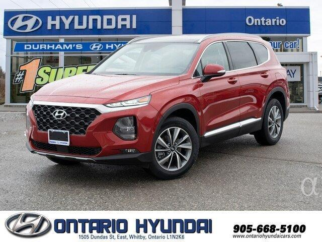 2020 Hyundai Santa Fe Preferred 2.0 w/Sun & Leather Package (Stk: 177394) in Whitby - Image 1 of 21
