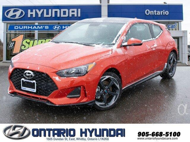 2020 Hyundai Veloster Turbo (Stk: 025913) in Whitby - Image 1 of 19