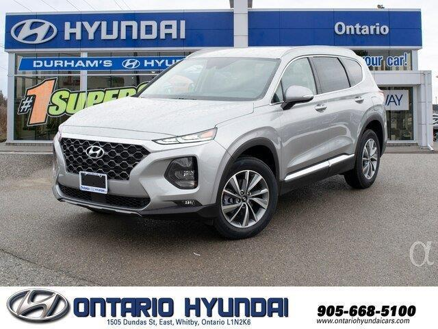 2020 Hyundai Santa Fe Essential 2.4  w/Safety Package (Stk: 189117) in Whitby - Image 1 of 18