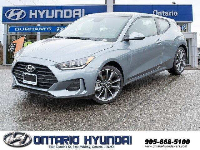 2020 Hyundai Veloster Luxury (Stk: 023255) in Whitby - Image 1 of 20