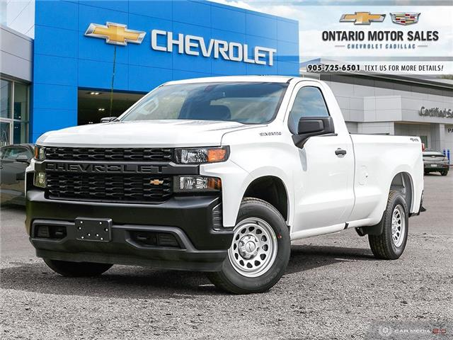 2019 Chevrolet Silverado 1500 Work Truck (Stk: T9249221) in Oshawa - Image 1 of 19