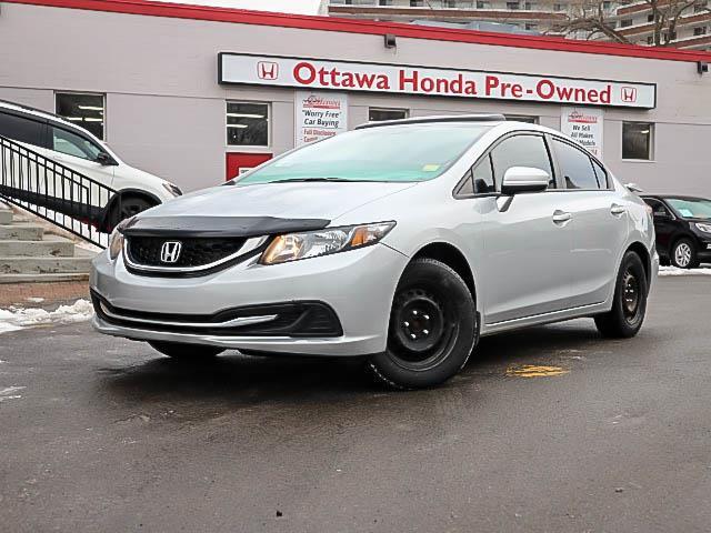 2015 Honda Civic EX (Stk: H81360) in Ottawa - Image 1 of 24