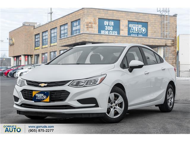 2016 Chevrolet Cruze LS Auto (Stk: 238513) in Milton - Image 1 of 17