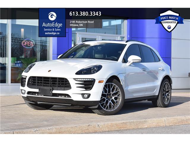 2018 Porsche Macan Sport Edition (Stk: A0103) in Ottawa - Image 1 of 30