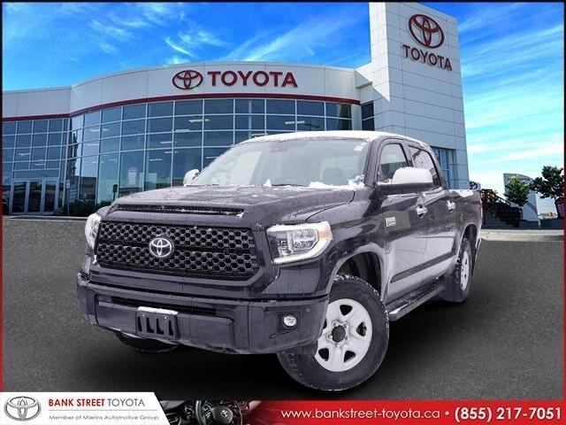 2018 Toyota Tundra Platinum 5.7L V8 (Stk: 28000A) in Ottawa - Image 1 of 27